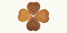 Печенье сахарное «Сердечки»