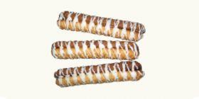 Печенье сахарное «Палочки» со сгущенкой и глазурью