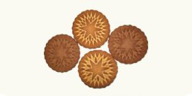 Печенье сахарное «Звездочка» с посыпкой