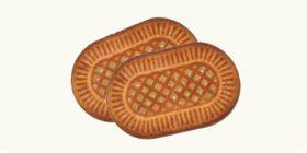 Печенье сахарное «Нежное» с посыпкой